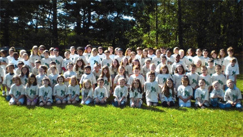 Enviornmental Pledge Participants 2012 - Folsom Elementary School 1 and 2 graders.